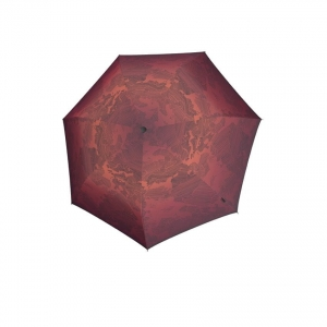 Parasol Knirps X1 MIRACLE EARTH ECO, bordowy